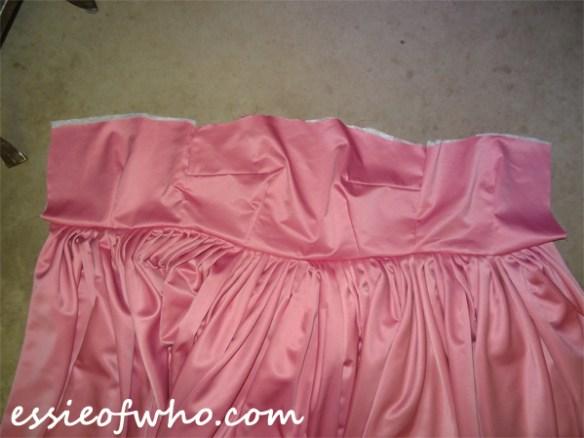 rose tyler idiots lantern dress skirt and bodice