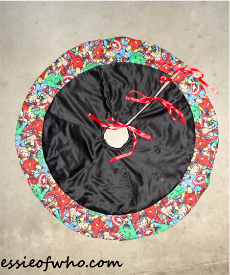 Avengers Christmas Tree Skirt