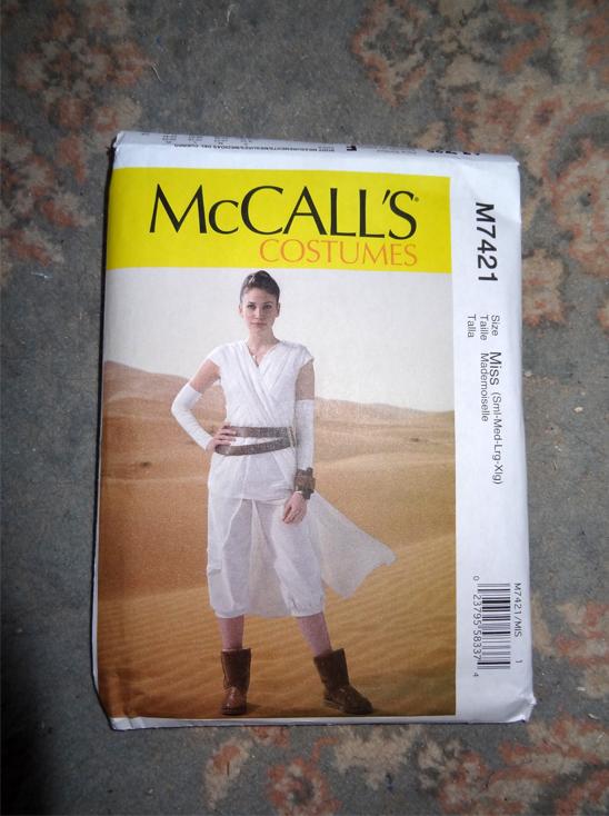 rey mccalls 2016 pattern