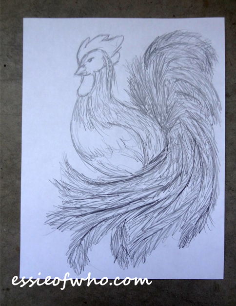 year-of-the-rooster-sketch