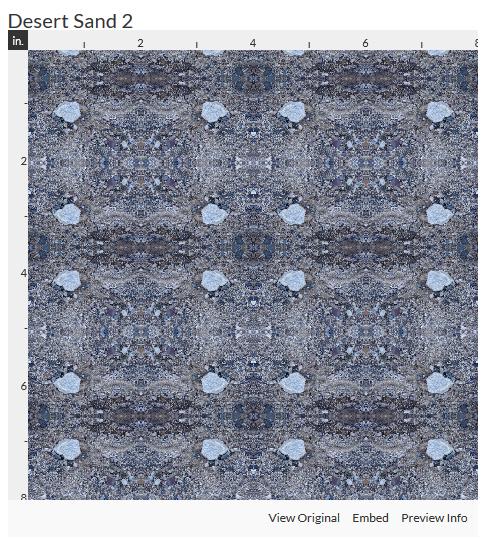 desert sand 2 fabric design