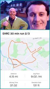 EHRC Return To Running Challenge 30x3