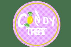 Candy treat logo