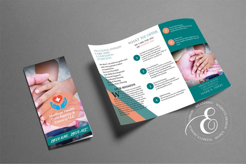 heritage -brochure- design