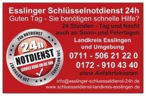 Schlüsselnotdienst Esslingen