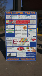 Sponsoring Rettungsleitsystem