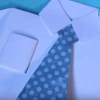 Father's Day Card - Shirt & Tie Tutorial
