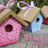 Paper Birdhouse Tutorial