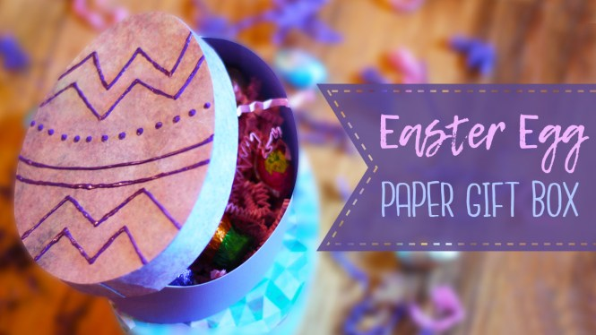 Easter egg paper gift box tutorial essyjae this tutorial shows how to create easter egg shaped gift boxes out of paper these are perfect to fill with candy or other goodies and give as a gift for negle Images