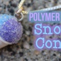 Polymer Clay Snow Cone Tutorial