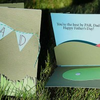 Golf Themed Pop-Up Card Tutorial