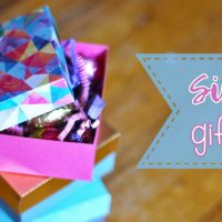 Easy Square Paper Gift Box Tutorial