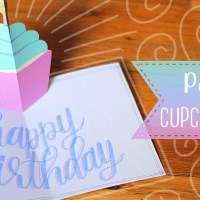 Easy Pop-up Birthday Cupcake Card Tutorial