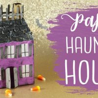 Featured Projects Spooky 3D Paper Haunted House Tu…