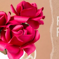 How To Make A Rose Out Of Paper + Free SVG & PDF Patterns!