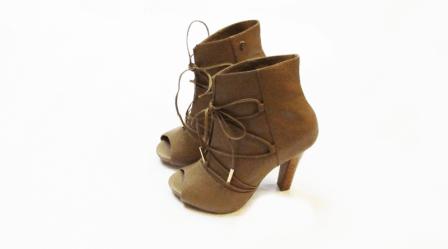 Zapatos de cuero - Botín caramelo