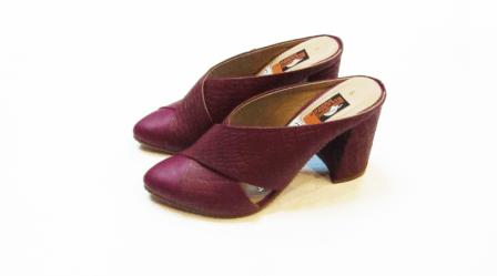 Zapatos de cuero - Mulé uva