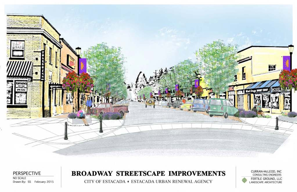 Broadway Streetscape Project has begun!