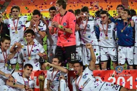 Pyunik é campeão da Copa da Armênia 2013