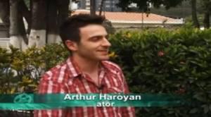 Arthur Haroyan, Armênio no Programa Cenário