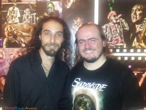 Felipe Mavichian e Alexey Kurkdjian