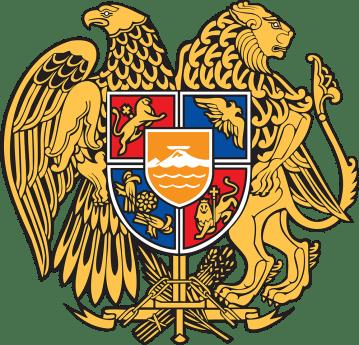Brasão da República Armênia de 1991
