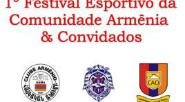 1º Festival Esportivo da Comunidade Armênia de SP