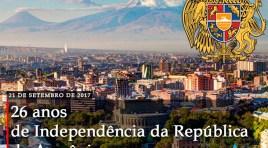 Armênia: 26 anos da independência de uma terra milenar