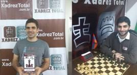 Mekhitarian vence Semifinal do Brasileiro de Xadrez; Proudian também estará nas Finais em fevereiro
