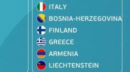 Armênia conhece seus adversários nas Eliminatórias da Euro – 2020