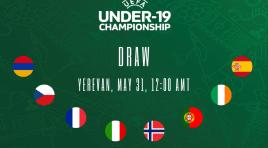 Armênia sediará o Campeonato Europeu Sub-19 de futebol
