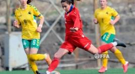 A nova seleção nacional de futebol feminino da Armênia já fez seu primeiro jogo