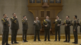 #Fiqueemcasa: A apresentação ao vivo do coral militar da Armênia