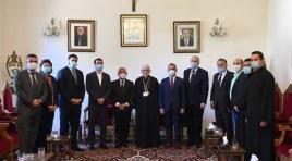 Delegação armênia chega ao Líbano para prestar assistência e visitar comunidade