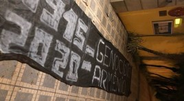 Viaduto sobre a 23 de maio e Consulado Turco recebem novas faixas de protesto