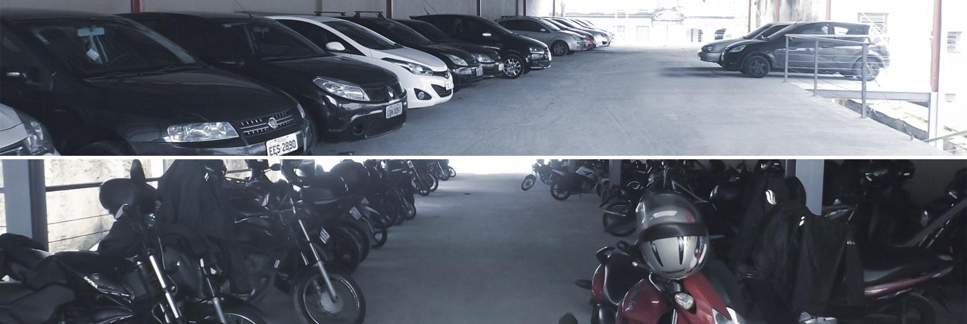 Estacionamento para cruzeiro santos