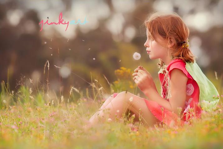 Dandelion, jinky art
