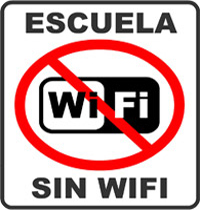 Escuela sin Wi-Fi