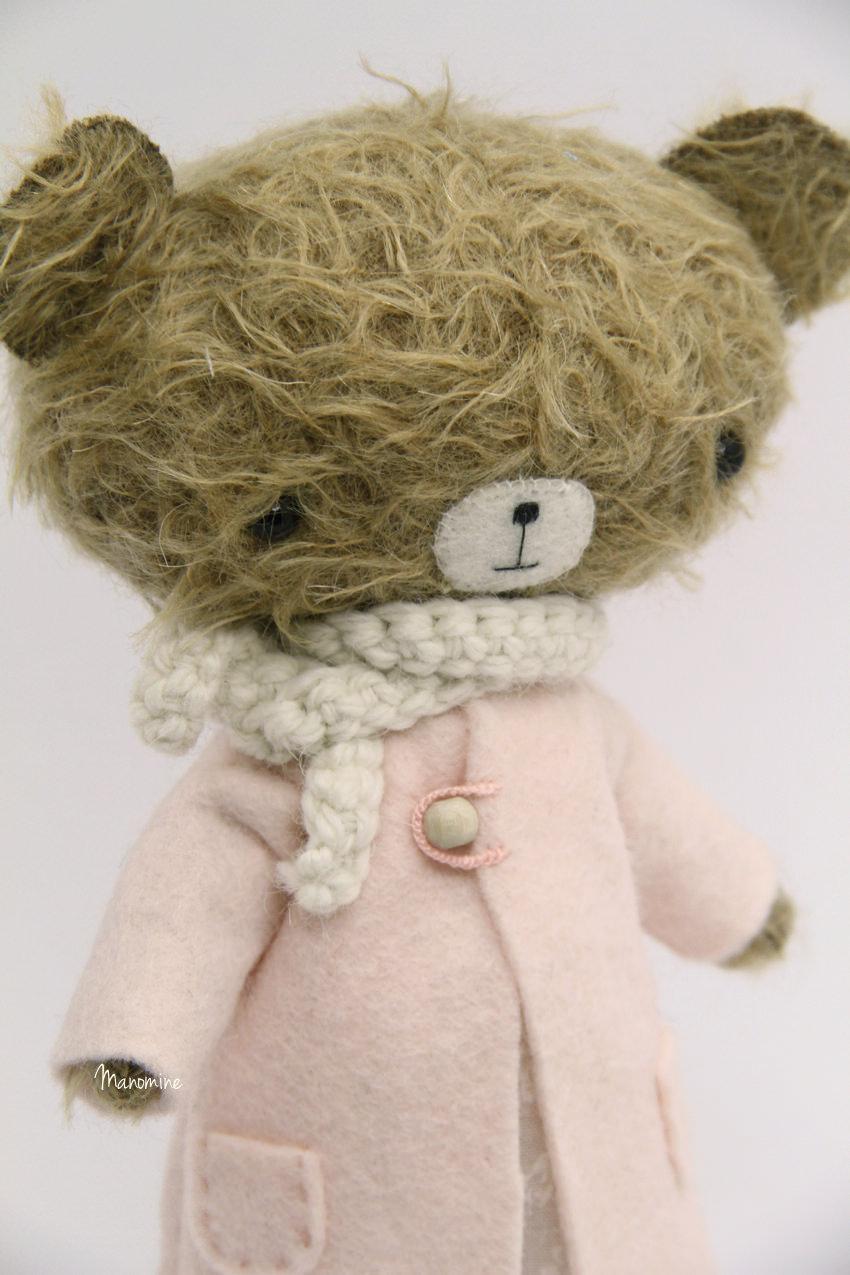 Manomine bear coat