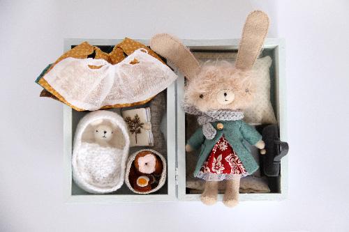 Manomine rabbit box