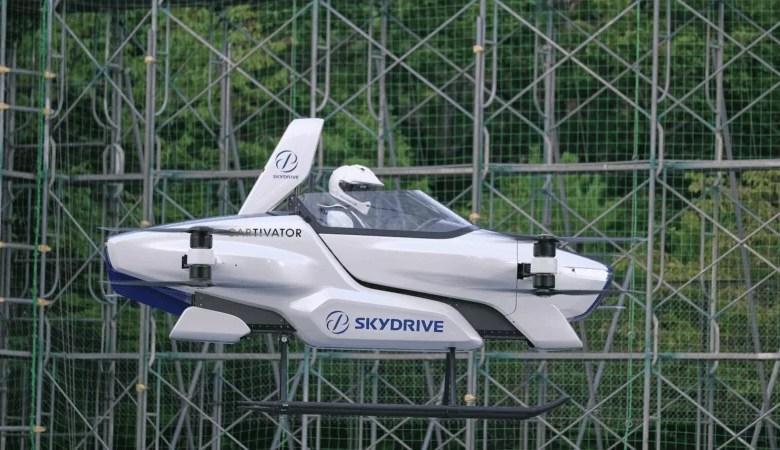 Photo of Japón prueba su primer auto volador
