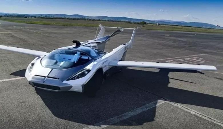 Photo of Prueba exitosa del auto volador que despega y aterriza como un avión