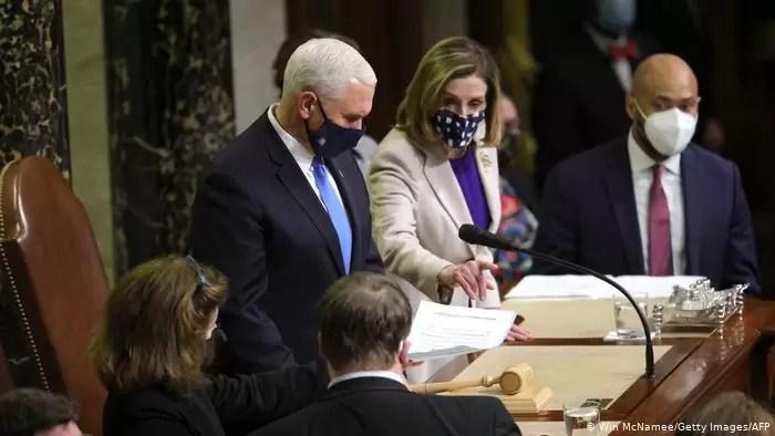 Photo of El Congreso de EE. UU. ratificó la victoria del demócrata Joe Biden