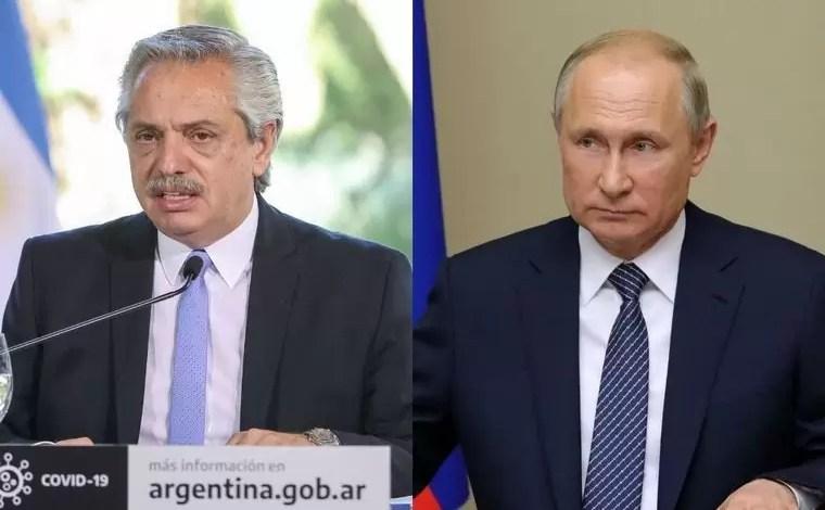 Photo of Fernández le agradeció a Putin el envío de la Sputnik V