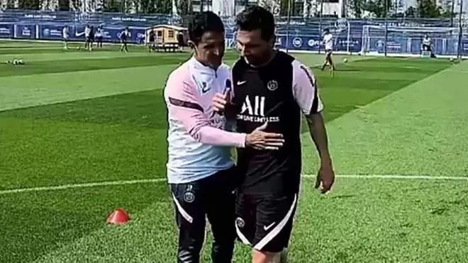 Photo of Primer entrenamiento de Messi en el PSG