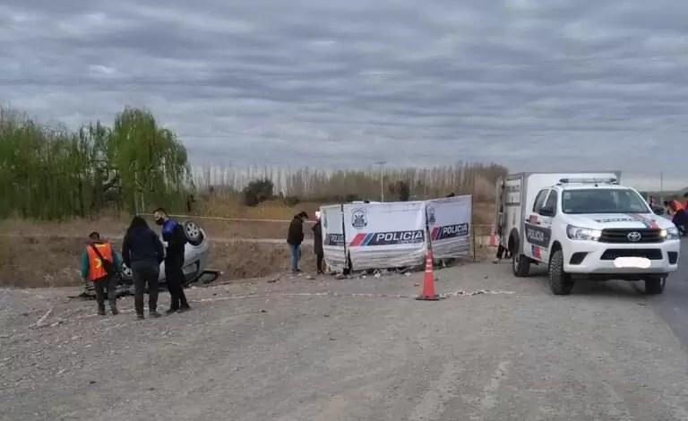 Photo of Domingo trágico: dos jóvenes murieron en un siniestro vial sobre ruta 40 en Pocito