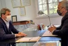 Photo of Alberto Fernández desayunó con Sergio Uñac y continúa en la Quinta de Olivos
