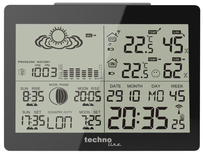GARNI WS 6760 estación metereológica - regalo de navidad