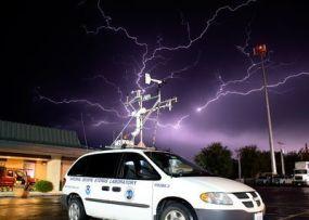 estaciones meteorologicas en coche
