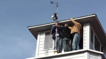 estaciones meteorologicas en tejado